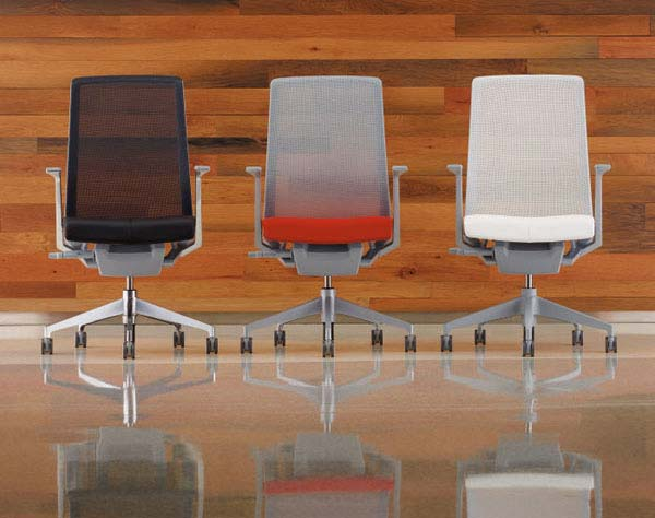 Three chairs designed by Evolve By Design