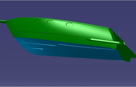 Water Craft or Boat Hull Design